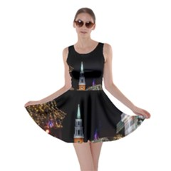 Church Decoration Night Skater Dress