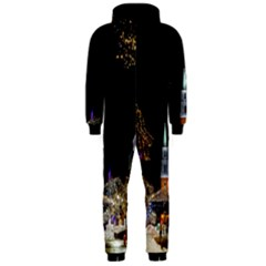Church Decoration Night Hooded Jumpsuit (men)