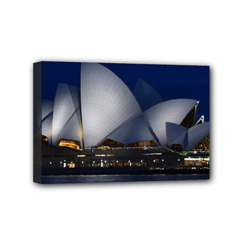 Landmark Sydney Opera House Mini Canvas 6  X 4