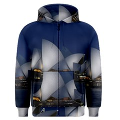 Landmark Sydney Opera House Men s Zipper Hoodie