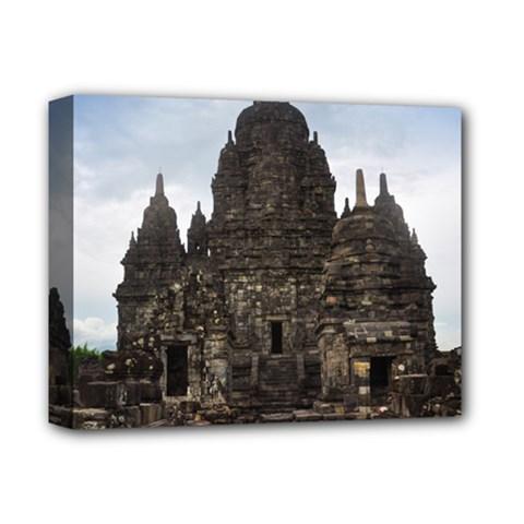 Prambanan Temple Indonesia Jogjakarta Deluxe Canvas 14  X 11