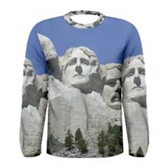 Mount Rushmore Monument Landmark Men s Long Sleeve Tee