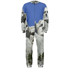 Mount Rushmore Monument Landmark Onepiece Jumpsuit (men)
