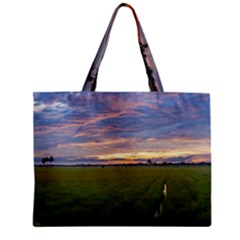 Landscape Sunset Sky Sun Alpha Mini Tote Bag