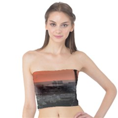 Paris France French Eiffel Tower Tube Top
