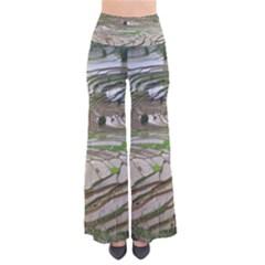 Rice Fields Terraced Terrace Pants