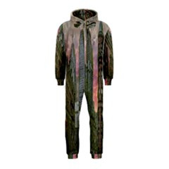Flat Iron Building Toronto Ontario Hooded Jumpsuit (kids)