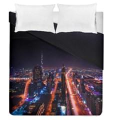 Dubai Cityscape Emirates Travel Duvet Cover Double Side (queen Size)