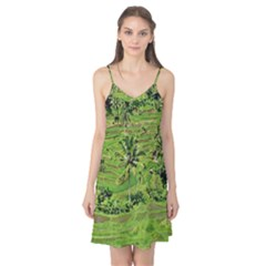 Greenery Paddy Fields Rice Crops Camis Nightgown