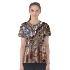 Baroque Church Collegiate Church Women s Cotton Tee