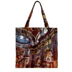 Baroque Church Collegiate Church Zipper Grocery Tote Bag