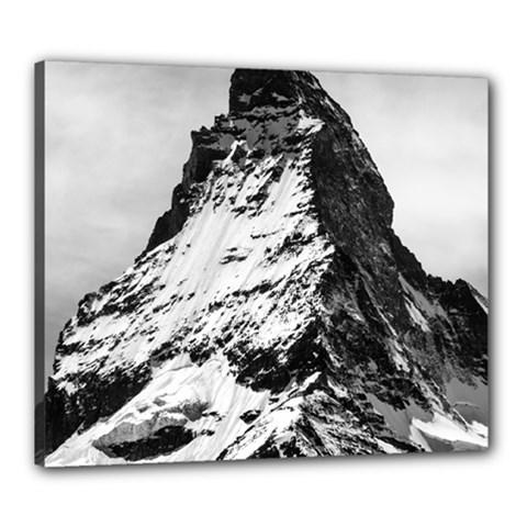 Matterhorn Switzerland Mountain Canvas 24  X 20