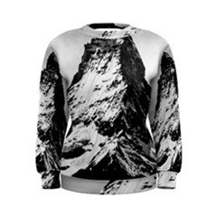 Matterhorn Switzerland Mountain Women s Sweatshirt