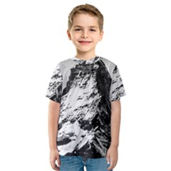 Matterhorn Switzerland Mountain Kids  Sport Mesh Tee
