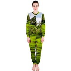 Rice Terrace Terraces Onepiece Jumpsuit (ladies)