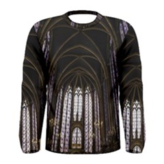 Sainte Chapelle Paris Stained Glass Men s Long Sleeve Tee