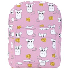 Cute Mouse Pattern Full Print Backpack