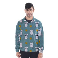 Cute Mouse Pattern Wind Breaker (men)