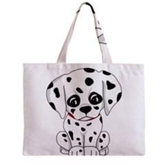 Cute Dalmatian Puppy  Mini Tote Bag