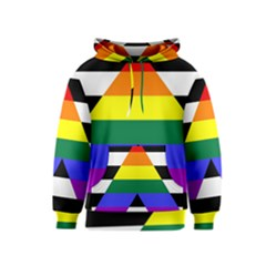 Straight Ally Flag Kids  Pullover Hoodie