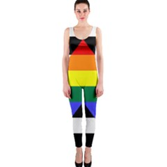 Straight Ally Flag Onepiece Catsuit