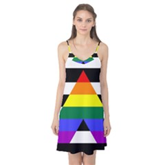 Straight Ally Flag Camis Nightgown