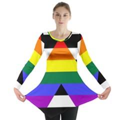 Straight Ally Flag Long Sleeve Tunic