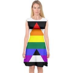 Straight Ally Flag Capsleeve Midi Dress