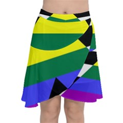 Straight Ally Flag Chiffon Wrap