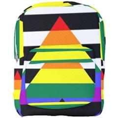 Straight Ally Flag Full Print Backpack