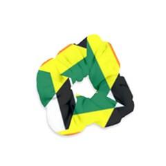 Straight Ally Flag Velvet Scrunchie