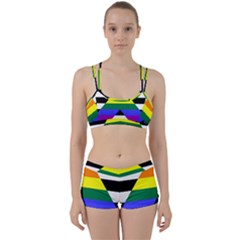 Straight Ally Flag Women s Sports Set