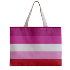 Lesbian Pride Flag Mini Tote Bag