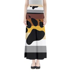 Bear Pride Flag Full Length Maxi Skirt