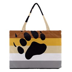 Bear Pride Flag Medium Tote Bag