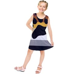 Bear Pride Flag Kids  Tunic Dress