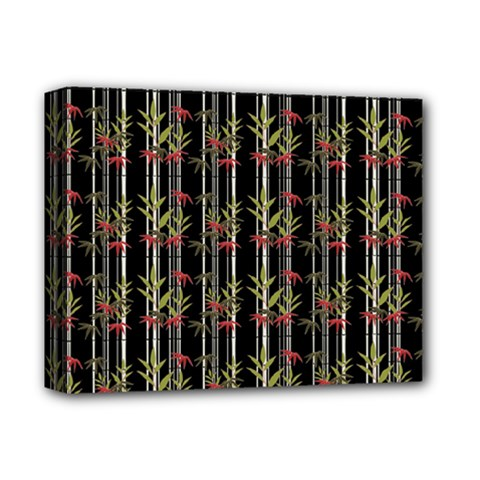 Bamboo Pattern Deluxe Canvas 14  X 11