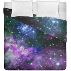 Space Colors Duvet Cover Double Side (king Size)