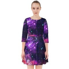Space Colors Smock Dress