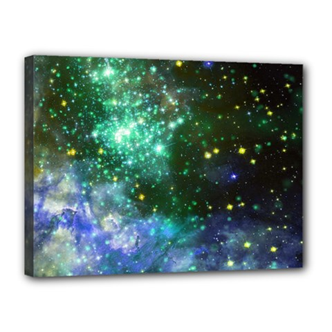 Space Colors Canvas 16  X 12