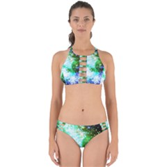 Space Colors Perfectly Cut Out Bikini Set