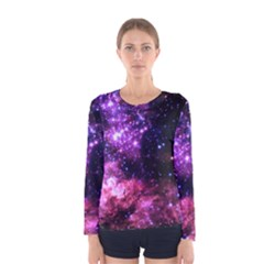 Space Colors Women s Long Sleeve Tee