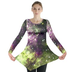 Space Colors Long Sleeve Tunic