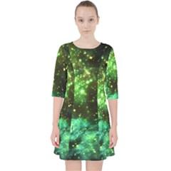 Space Colors Pocket Dress