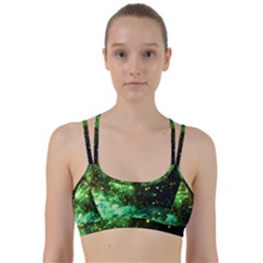 Space Colors Line Them Up Sports Bra