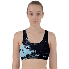Space Colors Back Weave Sports Bra