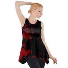 Space Colors Side Drop Tank Tunic