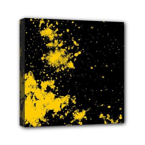 Space Colors Mini Canvas 6  X 6