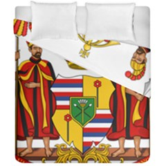 Kingdom Of Hawaii Coat Of Arms, 1795 1850 Duvet Cover Double Side (california King Size)