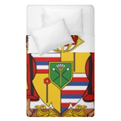 Kingdom Of Hawaii Coat Of Arms, 1795 1850 Duvet Cover Double Side (single Size)